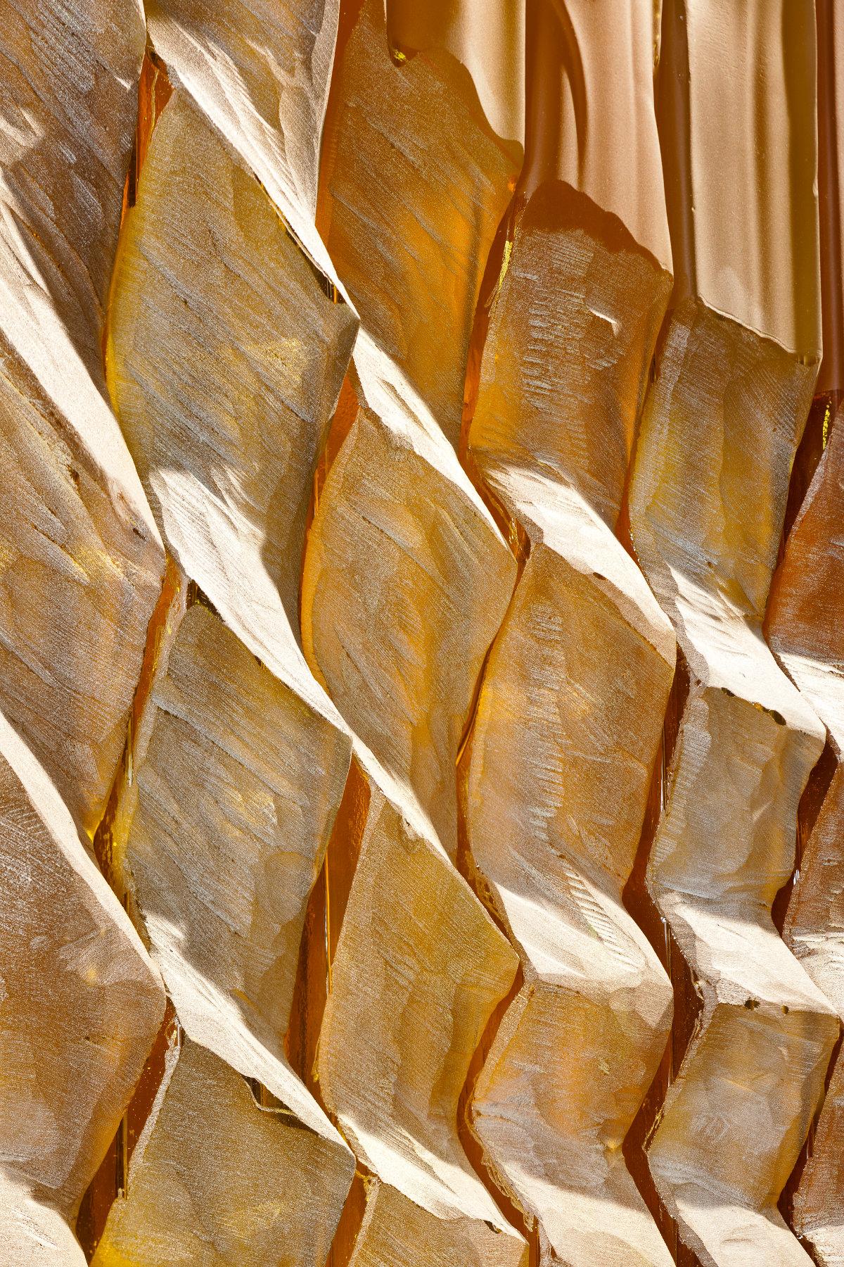 Ursula von Rydingsvard - Glass Corrugated
