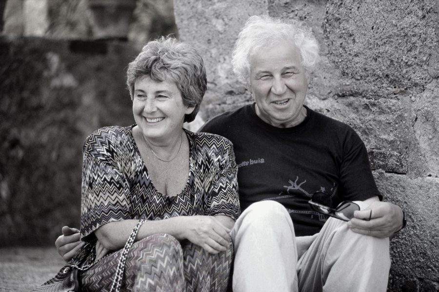 Portrait of Emilia and Ilya Kabakov