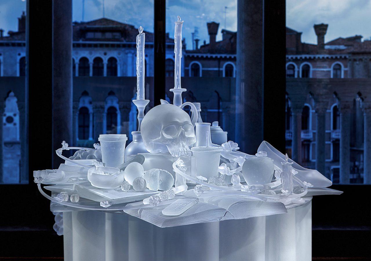 Hans Op de Beeck - The Frozen Vanitas