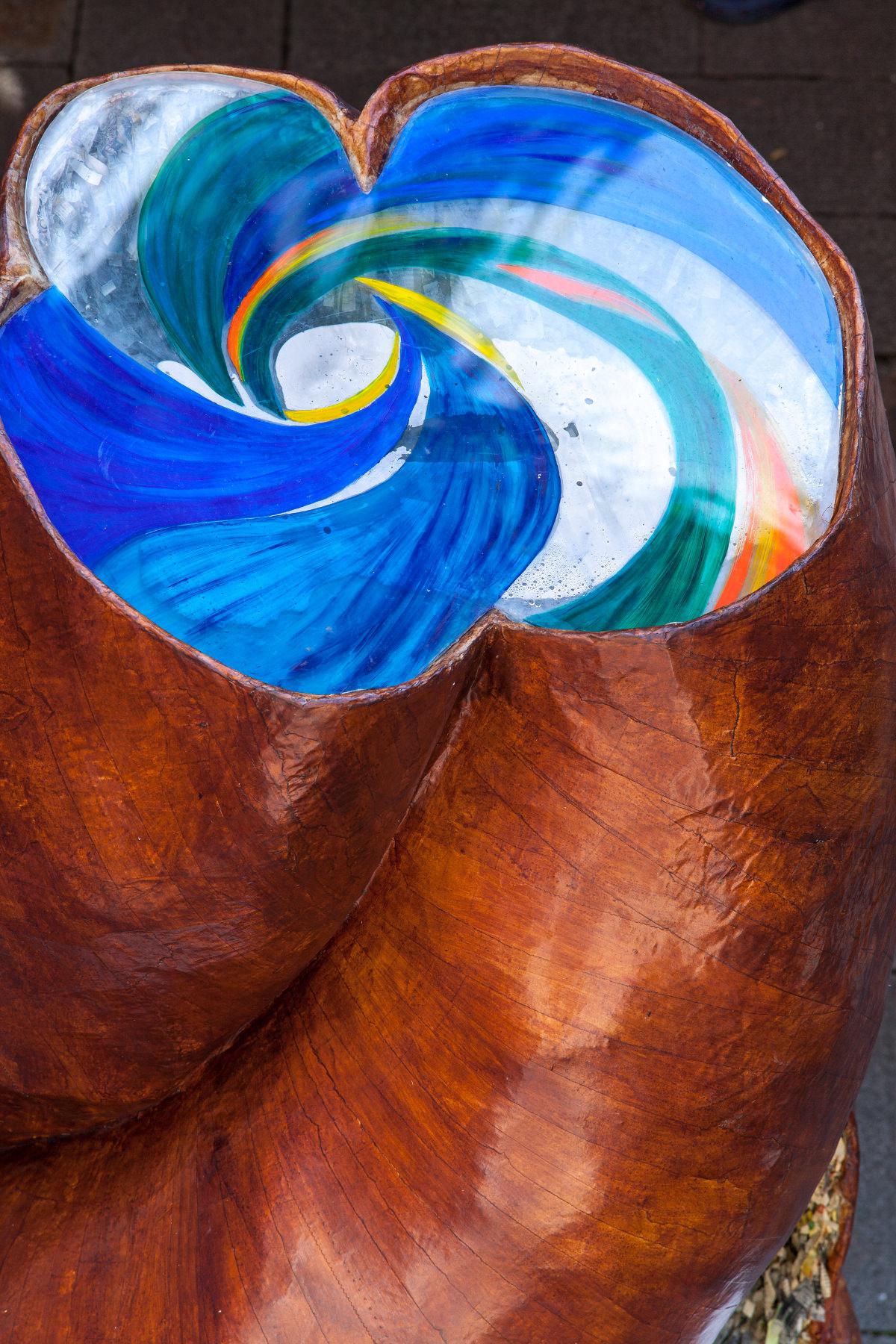 Mariyo Yagi - Nawa Shrine 2015 - The traveling isolation of Maimai - Spiral Nail