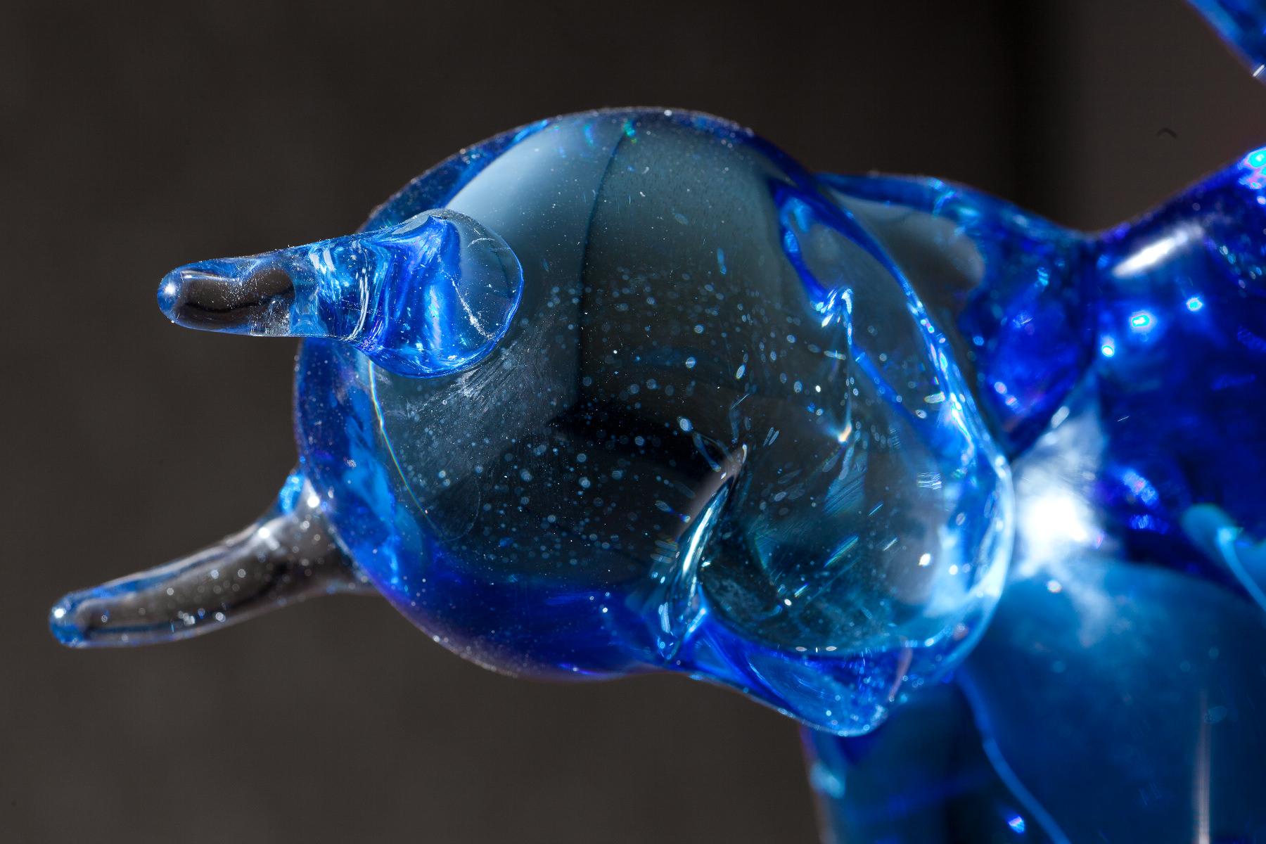 Tony Oursler - Blue Double Negative
