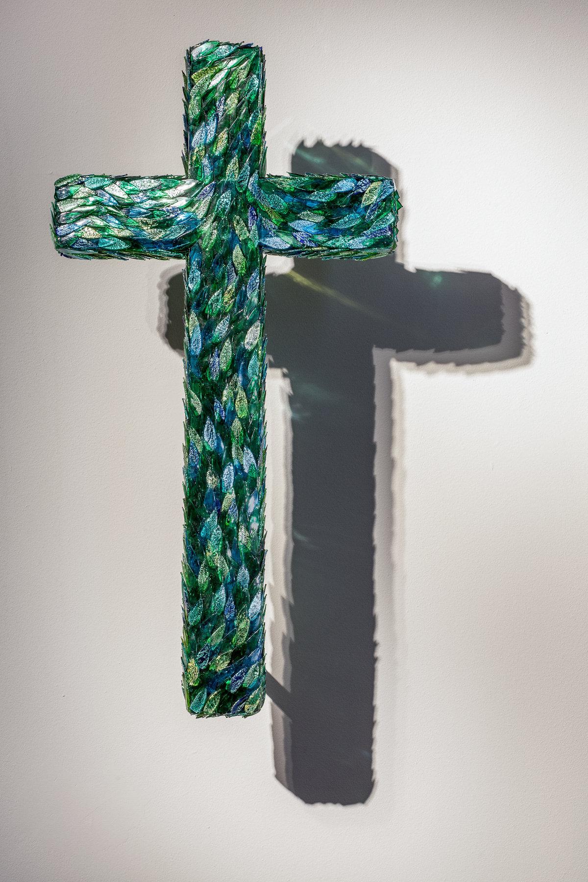 Jan Fabre - Cross for the Garden of Delight