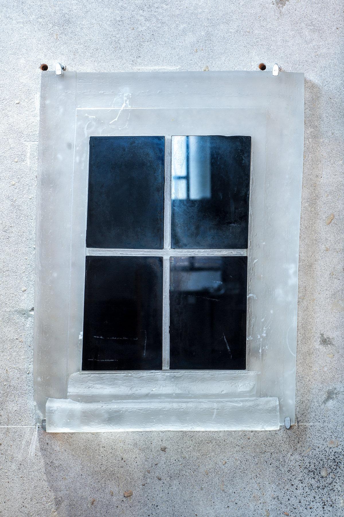 Cornelia Parker - Black Window