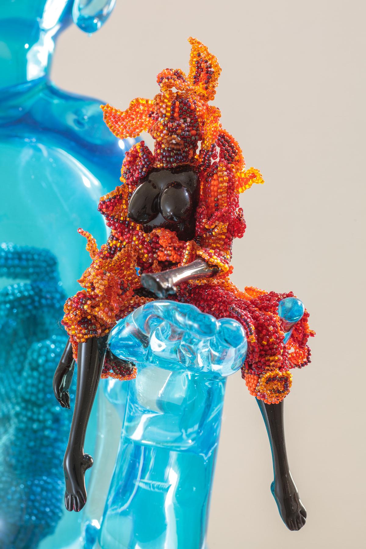 Joyce Scott - Buddha Fire and Water