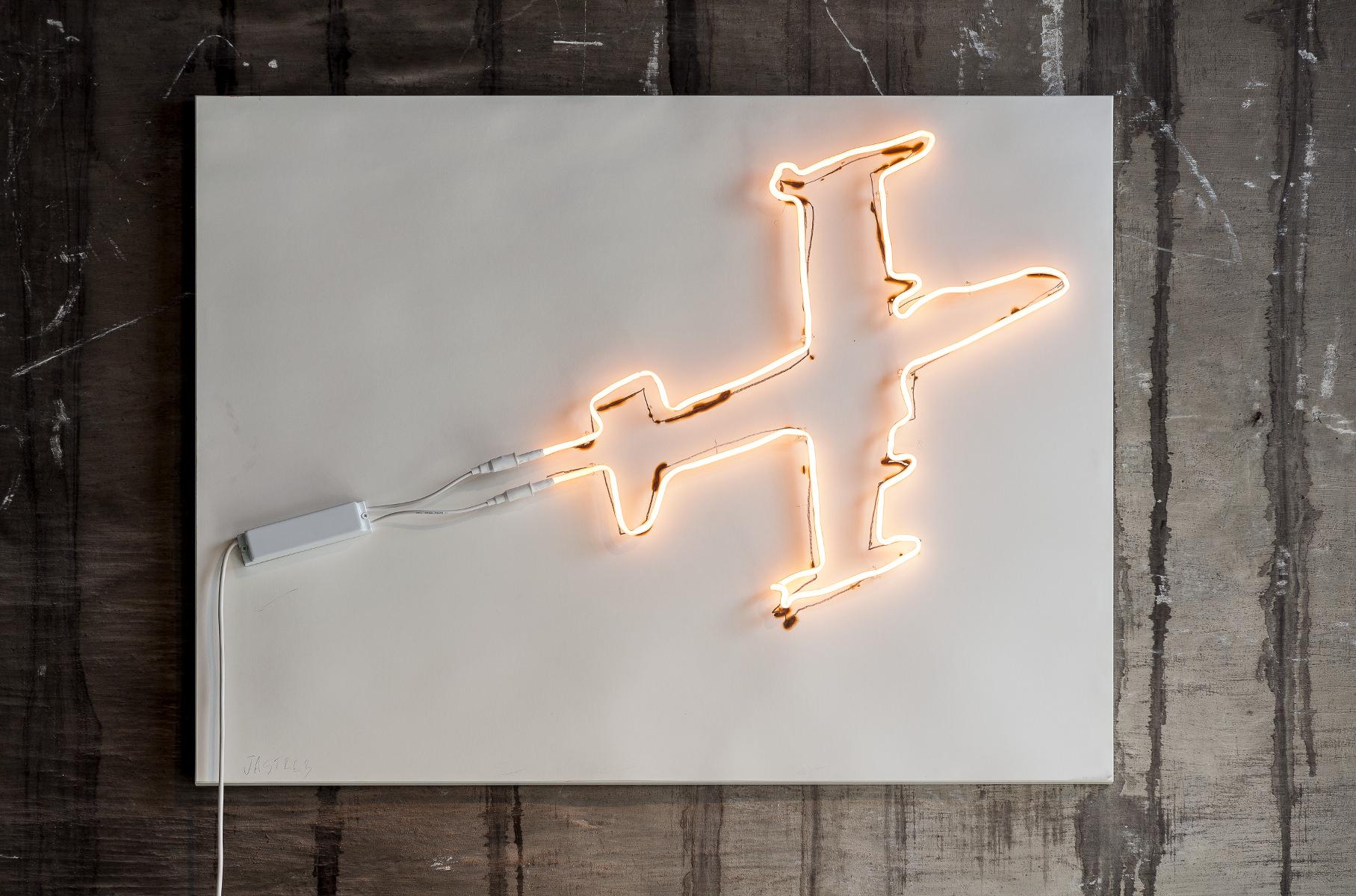 Fiona Banner - Jastreb (Neon Jet)