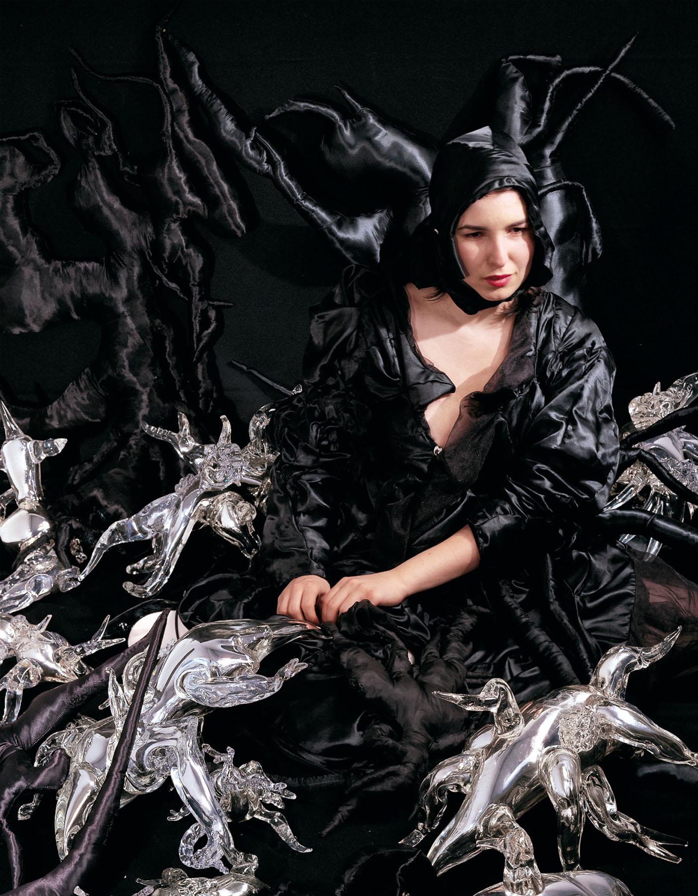 Marya Kazoun - Self Portrait